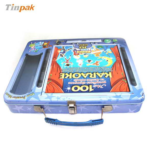 Lunch box for DVD tin cases