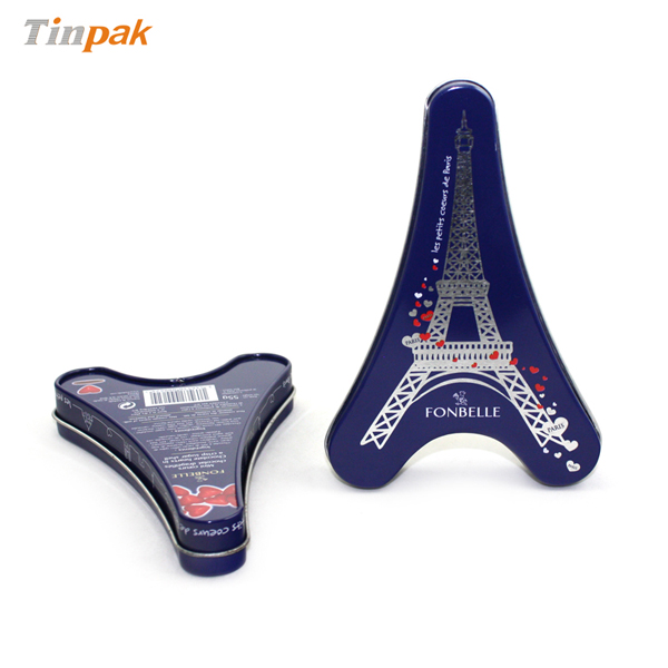Eiffel Tower Candy Tins