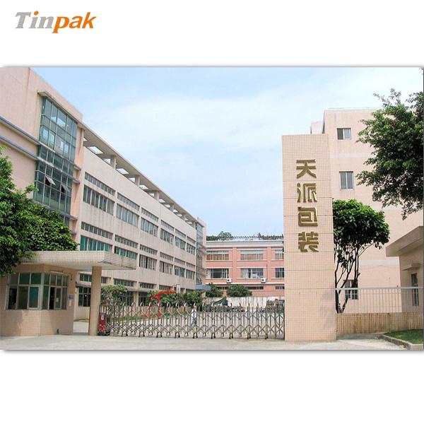Tinpak factory for DVD tin