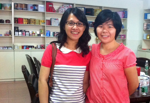 Malaysian food tin box buyer visited Tinpak.