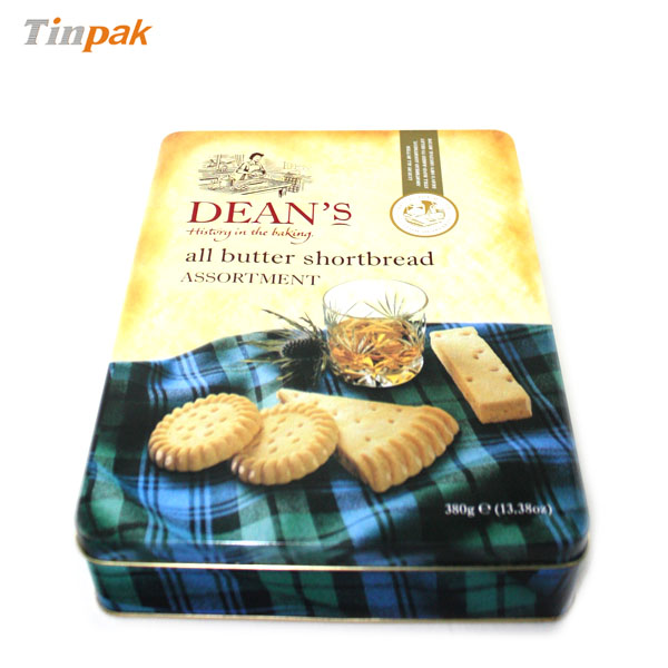Deans biscuit tin box UK