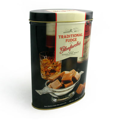 Traditional Fudge Tin box by Tinpak