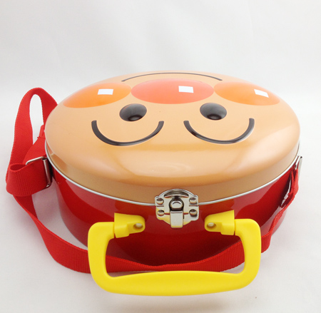 Lunch style Anpanman tin box