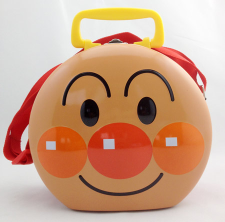 Anpanman tin box with handle