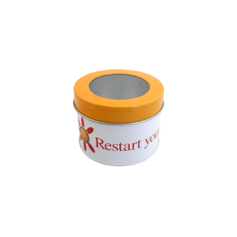 Small Round Windows: Wholesale Small Round Tea Tin With Window