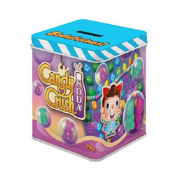 Custom square candy tin boxes