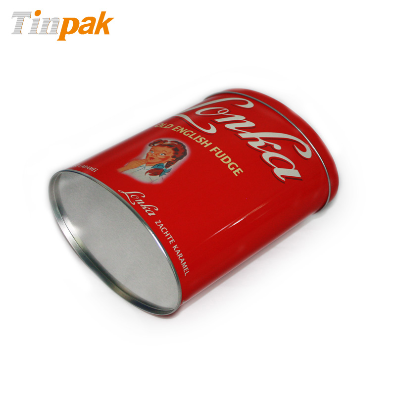 candy tin cans