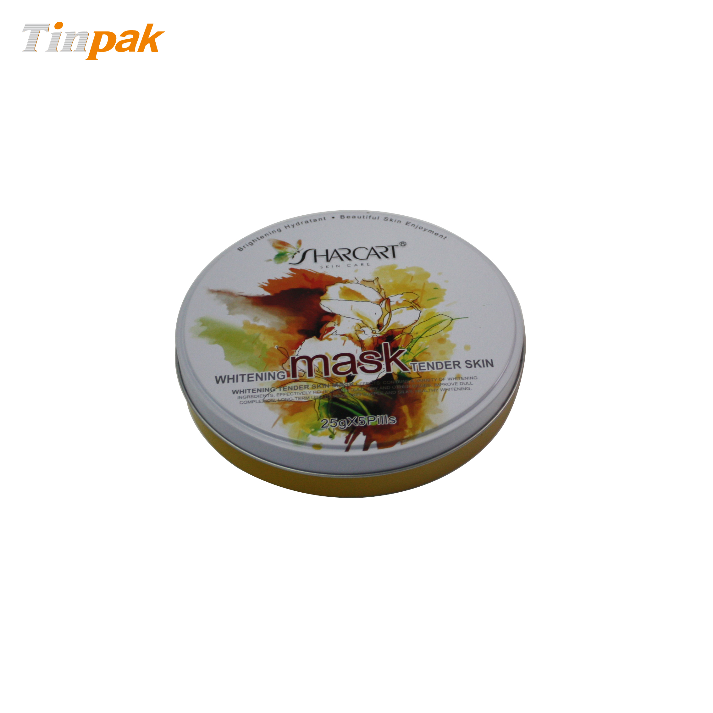 decorative cosmetic tins