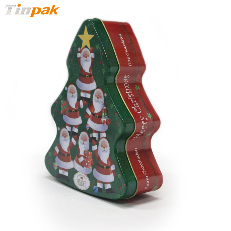 decorative Christmas Tins