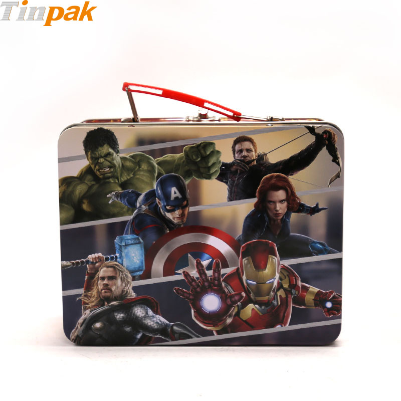 The Avengers Metal Lunch Box