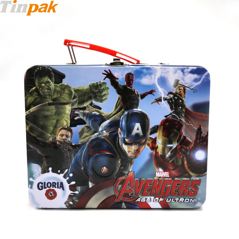 The Avengers Metal Lunch Boxes