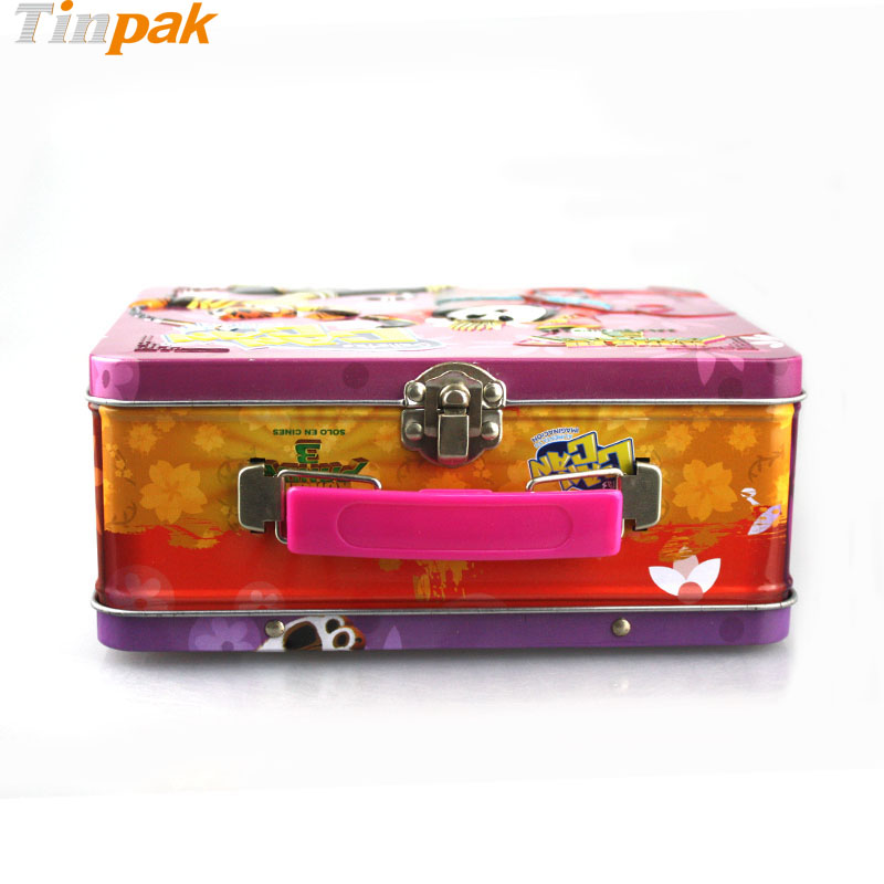 Decorative Box Lunches : Kung fu panda lunch tin boxes for galletas can factory
