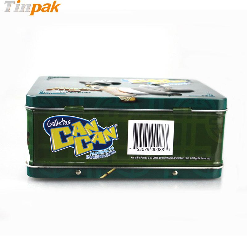 Decorative Box Lunches : Galletas can kung fu panda tin lunch box wholesaler