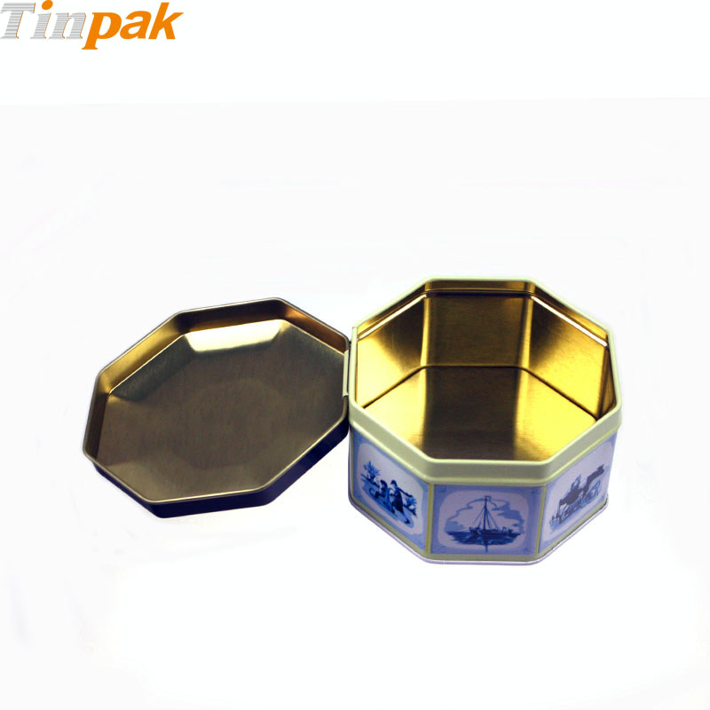 decorative metal coffee tins