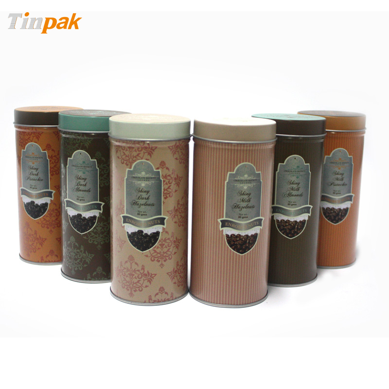 custom tin coffee canisters
