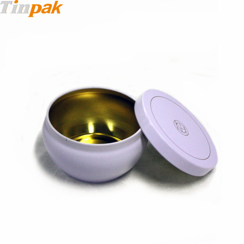 decorative candle tin contaienrs