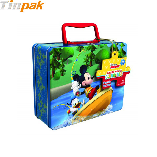 Mickey Mouse Puzzle Tins