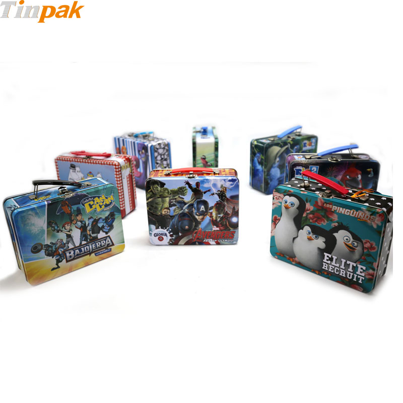 custom metal tin lunch boxes factory