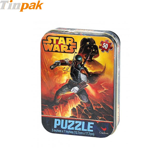 Star Wars Travel Mini Puzzle Tins