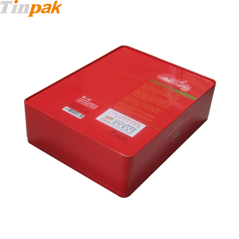 food packaging rectangular tins