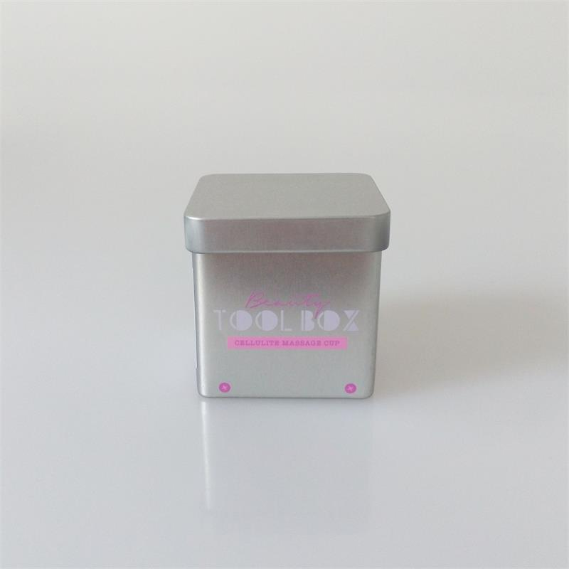 small square tin
