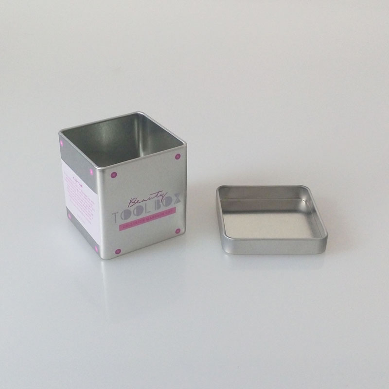 small square tin manufacture
