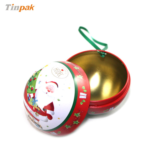 ornament gift tins