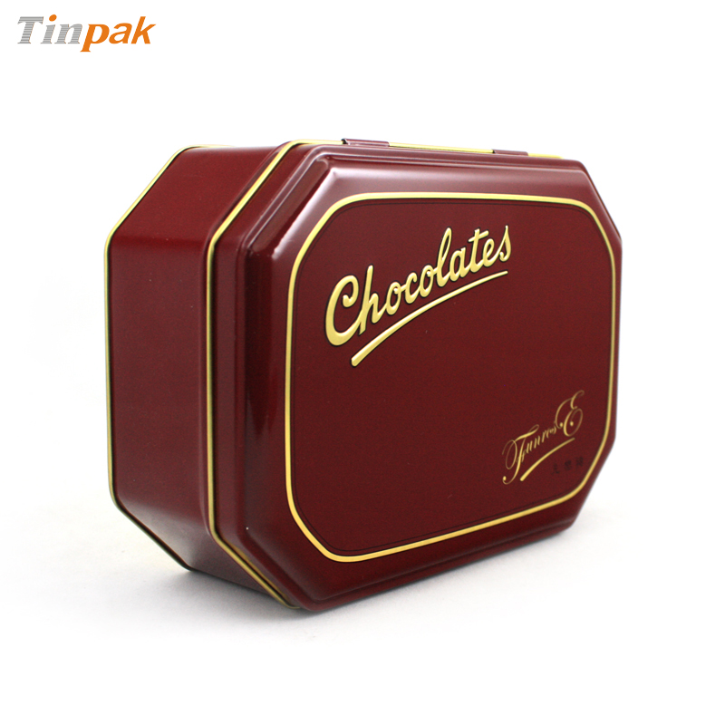 Chocolate Metal Tins
