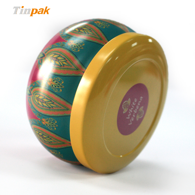 decorative scented tin candle boxes