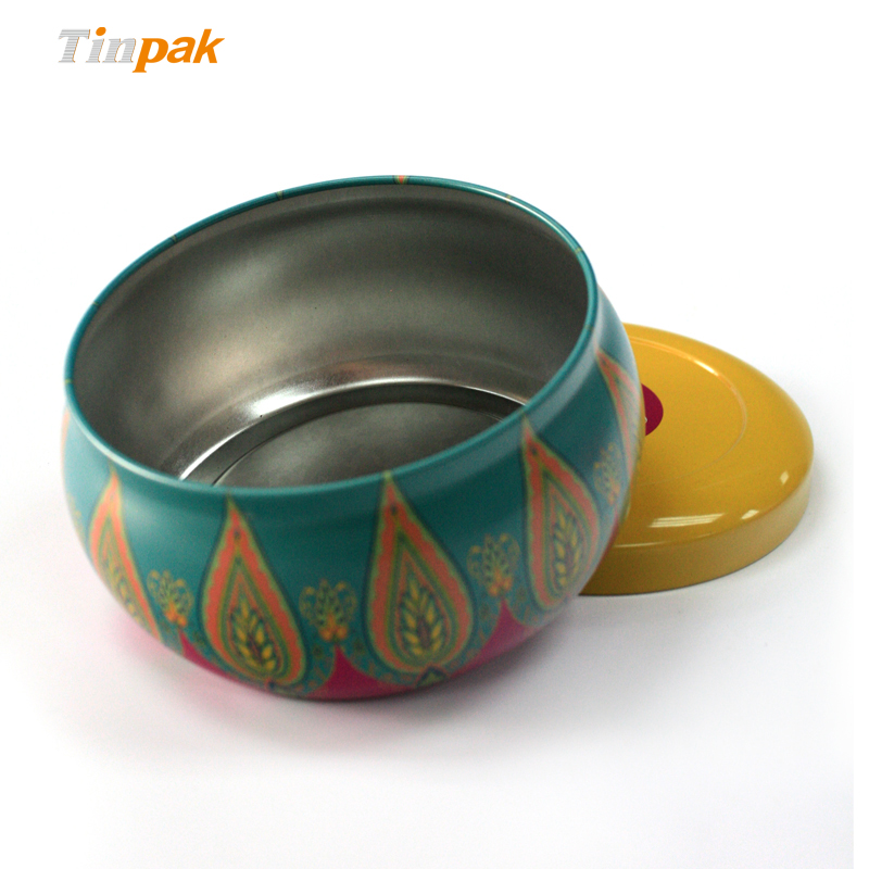 seamless scented tin candle box