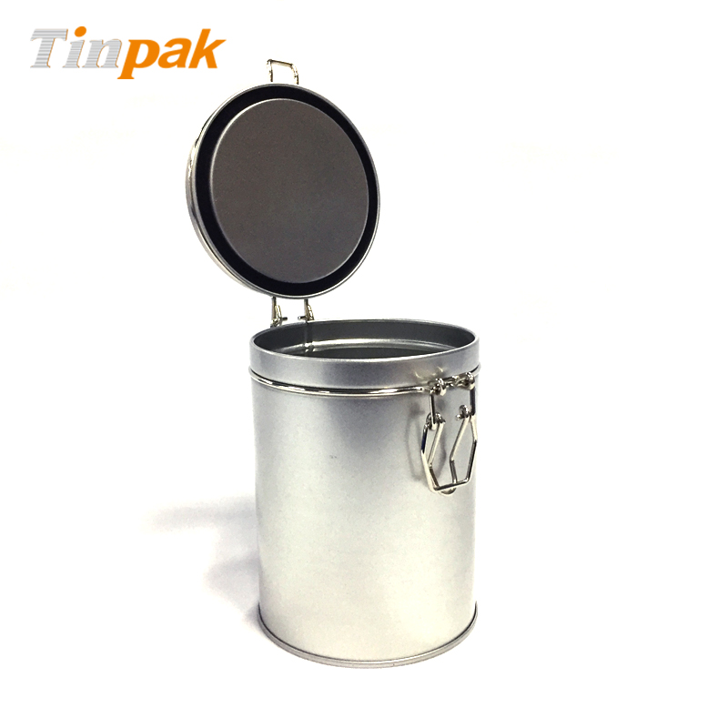Round Coffee Tin
