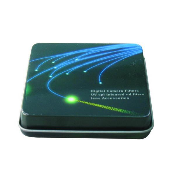 rectangular camera filters tin box