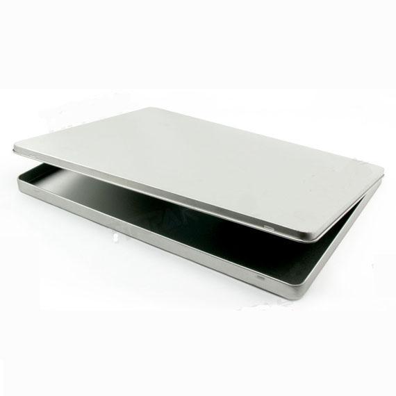 Tin Mailbox: Hinged A4 Size Document Tin Box