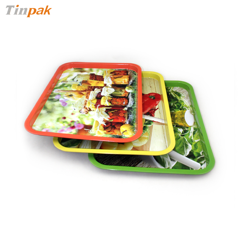 premium metal tin tray