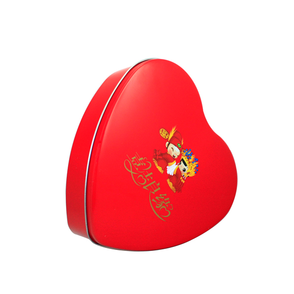 premium custom heart tin cases
