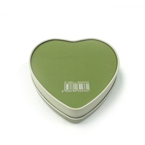 heart shaped chocolate tin container