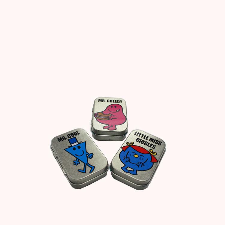 custom sugar-free mint tin can