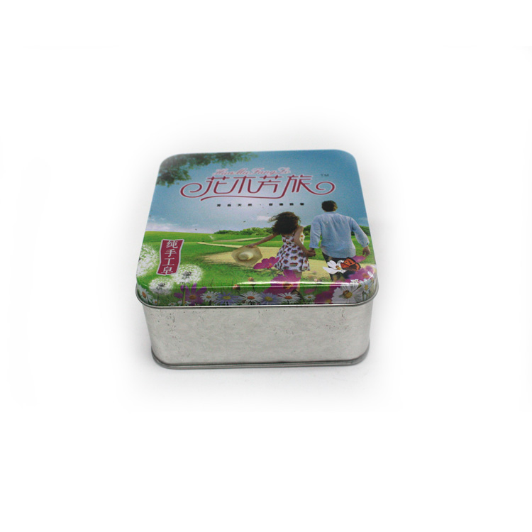 premium custom square soap tin boxes manufacturer