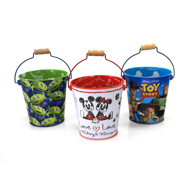 premium custom tin bucket for gift