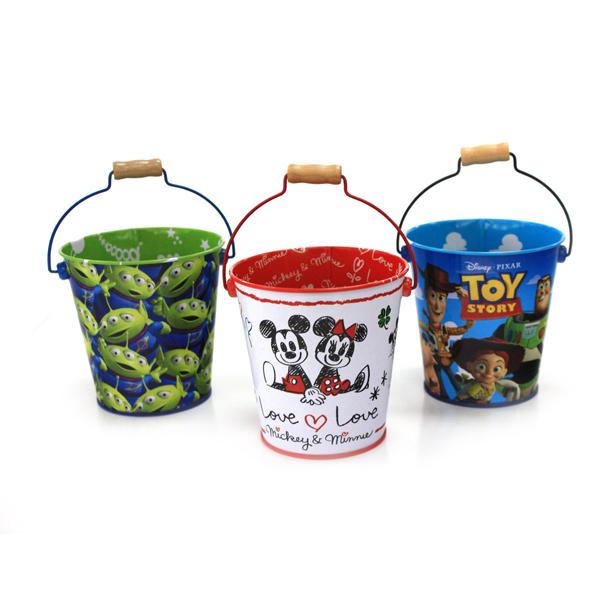 premium custom tin bucket for gift