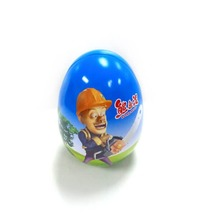 Standing Egg Shaped Candy Tin Box