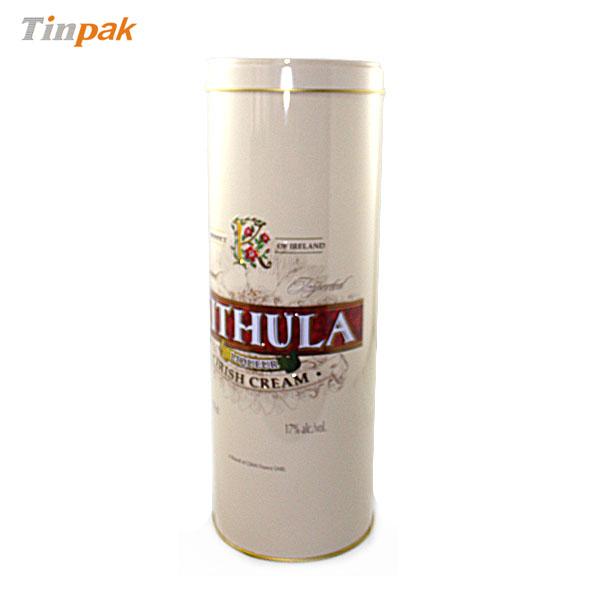 Premium custom round bottle tins