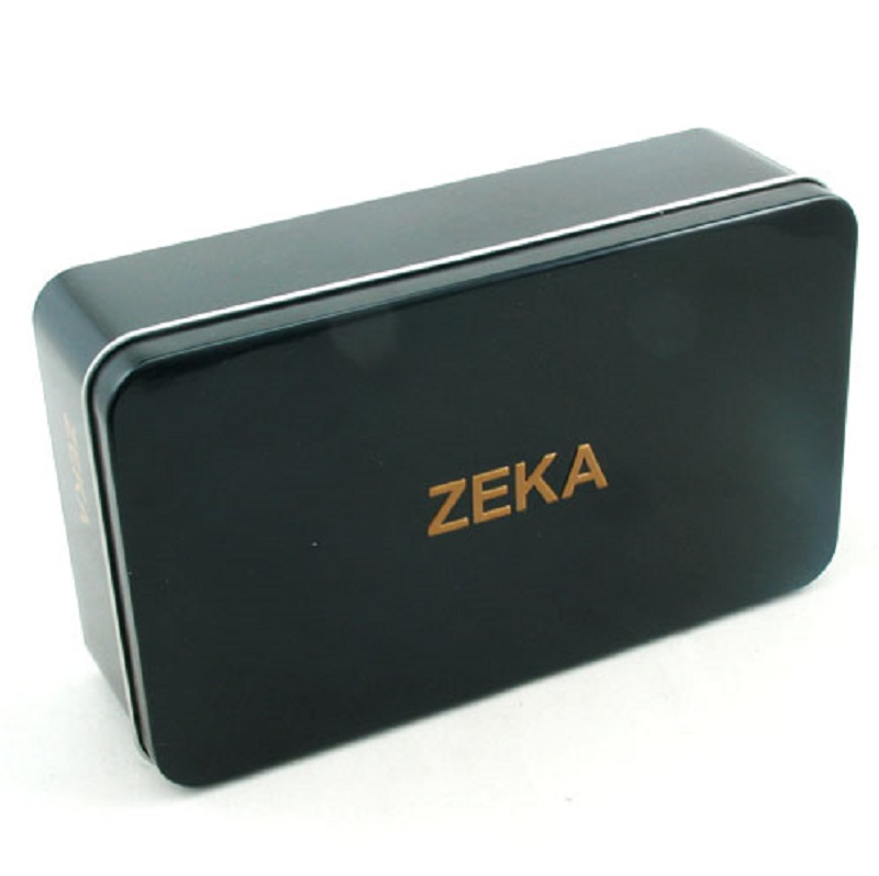 metal rectangular gift tin canister