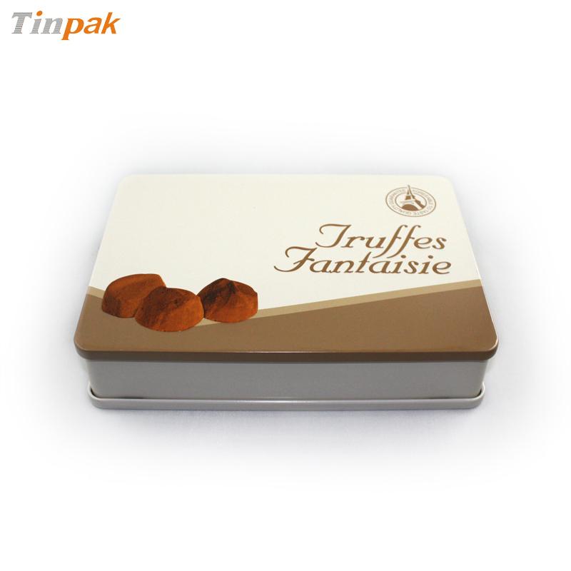 premium custom chocolate tin