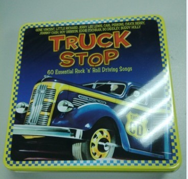 new design for metal CD tin box