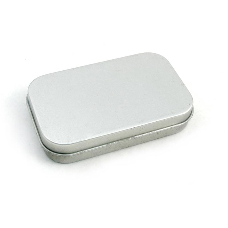sandblast small tin