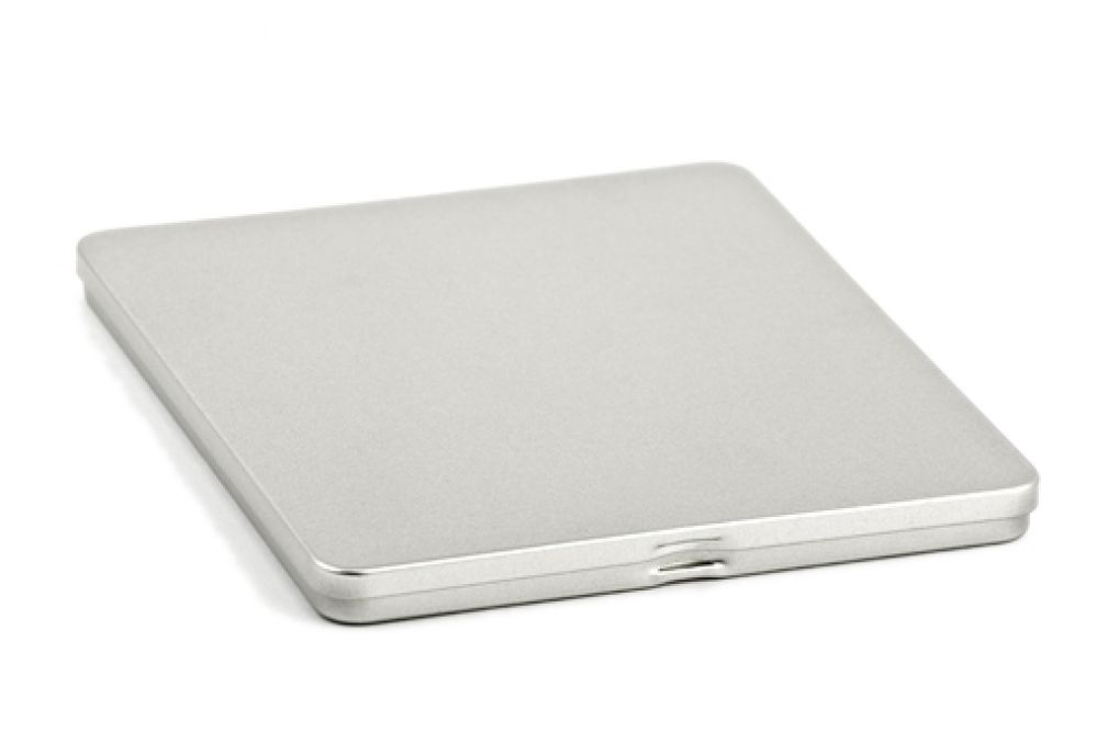sandblast CD tin case