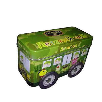 Car shaped game tin box