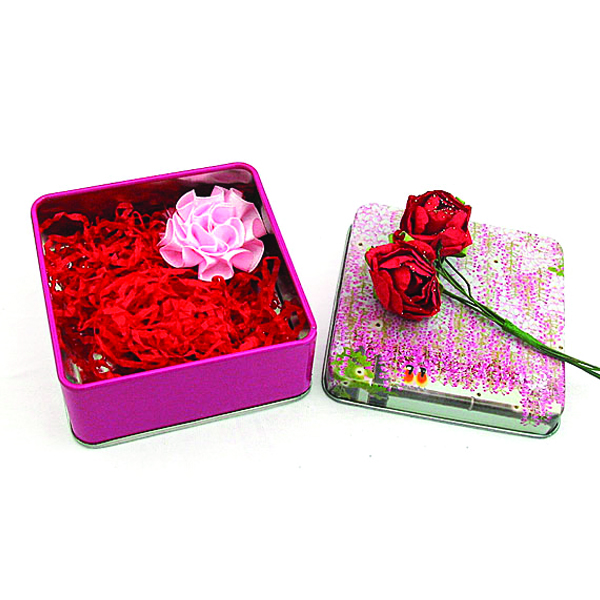 Square Candy Tin Case Factory