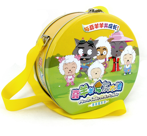 Lunch Tin box for DVD pack